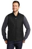 Packable Puffy Vest Deep Black Thumbnail