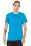BELLACANVAS Unisex Jersey Short Sleeve Tee Turquoise Thumbnail