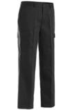 Men's Flat Front Cargo Pant Black Thumbnail