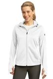 Women's Sport-tek Tech Fleece Full-zip Hooded Jacket White Thumbnail
