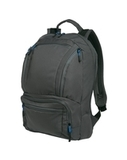 Cyber Backpack Dark Charcoal with Royal Thumbnail