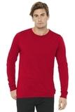 BELLACANVAS Unisex Jersey Long Sleeve Tee Red Thumbnail