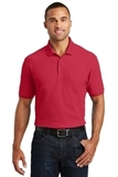 Core Classic Pique Pocket Polo Rich Red Thumbnail