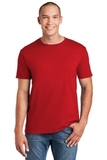 Softstyle Ring Spun Cotton T-shirt Cherry Red Thumbnail