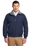 Challenger Jacket True Navy with Grey Heather Thumbnail