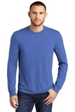 Made Men's Perfect Tri Long Sleeve Crew Tee Royal Frost Thumbnail