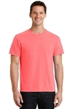Pigment-dyed Tee Neon Coral Thumbnail