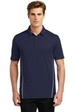 Sport-Tek Contrast PosiCharge Tough Polo True Navy with Heather Grey Thumbnail