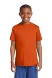 Youth Competitor Tee Deep Orange Thumbnail