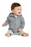 Infant Full-zip Hooded Sweatshirt Athletic Heather Thumbnail