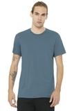 BELLACANVAS Unisex Jersey Short Sleeve Tee Steel Blue Thumbnail