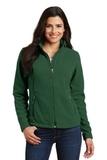 Women's Value Fleece Jacket Forest Green Thumbnail