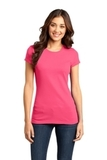 District Juniors Very Important Tee Neon Pink Thumbnail