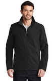 BackBlock Soft Shell Jacket Black with Black Thumbnail