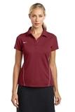 Women's Nike Golf Shirt Dri-FIT Sport Swoosh Pique Polo Team Red Thumbnail