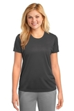 Women's Essential Performance Tee Charcoal Thumbnail