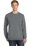 Essential Pigment-Dyed Crew-Neck Sweatshirt Pewter Thumbnail