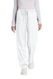 WonderWink Women's Petite WorkFlex Cargo Pant White Thumbnail