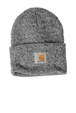 Carhartt Acrylic Watch Hat Black with White Thumbnail