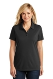 Women's Dry Zone UV MicroMesh Polo Deep Black Thumbnail