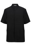 100 Polyester Men's Solid Tunic Black Thumbnail