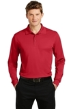 Long Sleeve Micropique Polo Shirt True Red Thumbnail