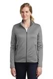 Women's Nike Golf Therma-FIT Full-Zip Fleece Dark Grey Heather Thumbnail