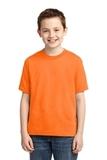 Youth 50/50 Cotton / Poly T-shirt Safety Orange Thumbnail