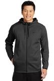 Nike Golf Therma-FIT Textured Fleece Full-Zip Hoodie Black Thumbnail