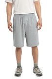 Jersey Knit Short With Pockets Heather Grey Thumbnail