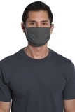 Cotton Knit Face Mask (5 Pack) Charcoal Thumbnail