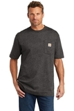 Carhartt Workwear Pocket Short Sleeve T-Shirt Carbon Heather Thumbnail