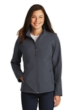 Women's Core Soft Shell Jacket Battleship Grey Thumbnail
