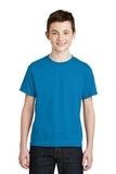 Youth Ultra Blend 50/50 Cotton / Poly T-shirt Sapphire Thumbnail