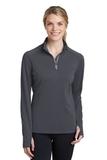 Women's Textured 1/4-Zip Pullover Iron Grey Thumbnail