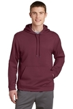 Performance Hooded Pullover Maroon Thumbnail