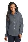 Women's Superpro Oxford Shirt Black Thumbnail