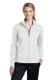 Women's Sport-Wick Fleece Full-Zip Jacket White Thumbnail