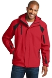 All-season II Jacket True Red with Black Thumbnail