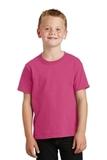 Youth 5.5-oz 100 Cotton T-shirt Sangria Thumbnail