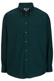 Men's Button Down Poplin Shirt LS Teal Thumbnail