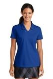 Women's Nike Golf Shirt Dri-FIT Micro Pique Polo Shirt Blue Sapphire Thumbnail