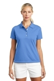 Women's Nike Golf Shirt Tech Basic Dri-FIT Polo University Blue Thumbnail