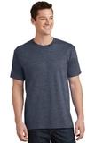 5.5-oz 100 Cotton T-shirt Heather Navy Thumbnail