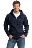 Tall Ultimate Full-zip Hooded Sweatshirt Navy Thumbnail