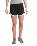 Women's Cadence Short Black with True Red and White Thumbnail