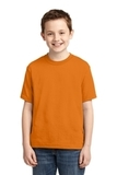 Youth 50/50 Cotton / Poly T-shirt Tennessee Orange Thumbnail