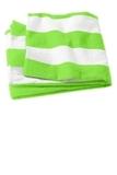 Cabana Stripe Beach Towel Bright Lime Thumbnail