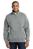1/4-zip Cadet Collar Sweatshirt Oxford Thumbnail