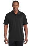 Sport-Tek PosiCharge RacerMesh Polo Black Thumbnail